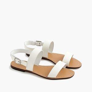 J. Crew Jules tumble leather sandals size 6
